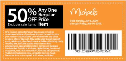 Michaels Craft Store Canada Coupons 50 Off Canadian Freebies Coupons Deals Bargains Flyers Michaels Coupon Printable Coupons Free Printable Coupons