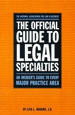 Download Pdf The Official Guide To Legal Specialties An