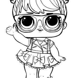 Dibujos Para Colorear Munecas Lol Lol Dolls Unicorn Coloring