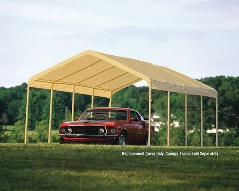 Shelterlogic 10559 12 26 Sandstone Canopy Replacement Cover Fits 2 In Frame By Shelterlogic 103 94 Manufactured To The Highest Quali Commercial Tans Model