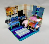 Some Pictures Of A Shoebox Room Project For Interior Design Unit
