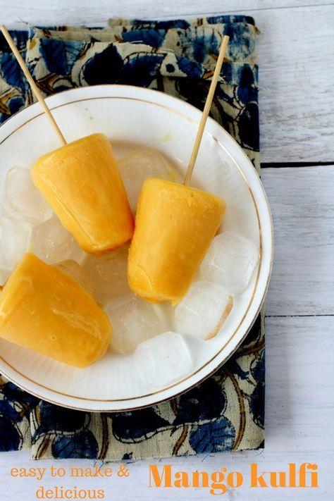Mango Kulfi Recipe How To Make Mango Kulfi Easy Dessert Recipe Kulfi Recipe Mango Kulfi Recipes