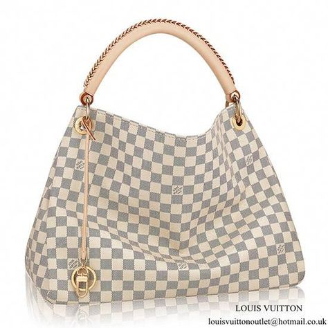 cf8488323067 Louis Vuitton N41174 Artsy MM Hobo Bag Damier Azur Canvas   Louisvuittonhandbags