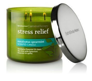 Aromatherapy Eucalyptus Spearmint Candles Candle Relief Stress 3wick Today Works Aromatherapy Stress Relief Aromatherapy Candles Stress Relief Candle