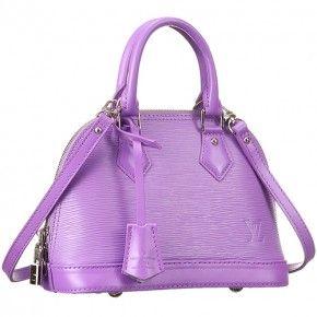 57c5e7e6caa1 Louis Vuitton Alma BB Purple Epi Leather 607506 | Fall 2016 Wardrobe ...