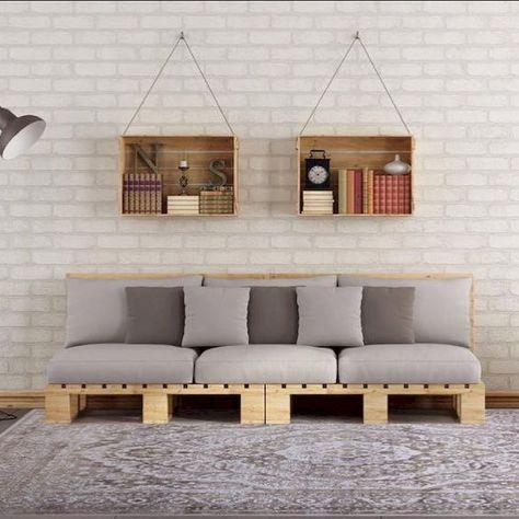 60 Stunning Diy Projects Pallet Sofa Design Ideas 47 Fabriquer Un Canape Meuble Palette Canape Palette