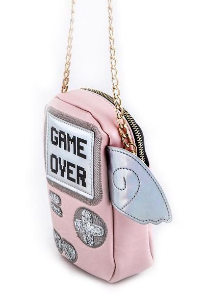 f25f78ba629 Gameover Crossbody Bag in 2019 | Cute Bags | Crossbody bag, Bags ...
