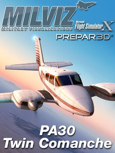 MILVIZ : PA30 Twin Comanche Robust simplicity The nippy