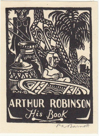 Barnett Percy Neville 1881 1953 Arthur Robinson His Book