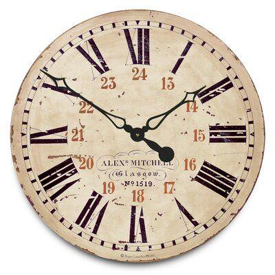 Williston Forge Swing 20 Wall Clock Clock Large Clock Wall