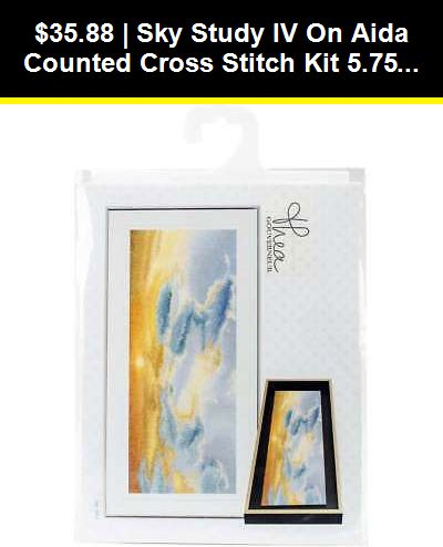"""18 Count Thea Gouverneur Counted Cross Stitch Kit 11.75/""""x7.75/""""-prunus On Aida"""
