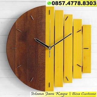 Jam Dinding Kayu Unik Jam Dinding Kayu Custom Jam Dinding Kayu Murah Jam Kayu Unik Unik Murah Industrial Clock Wall Retro Wall Clock Unique Wall Clocks