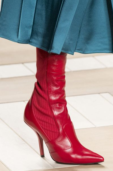 Fendi, Fall 2017 - The Beautiful and Bizarre Shoes on the Milan Runway - Photos