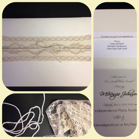 Bridal shower invitations for my BFF