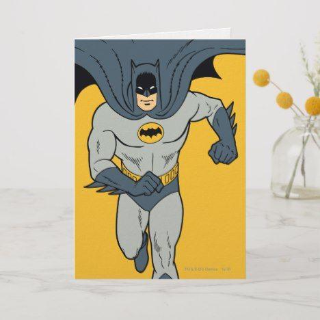 Batman Running Card Zazzle Com Batman Batman Wallpaper