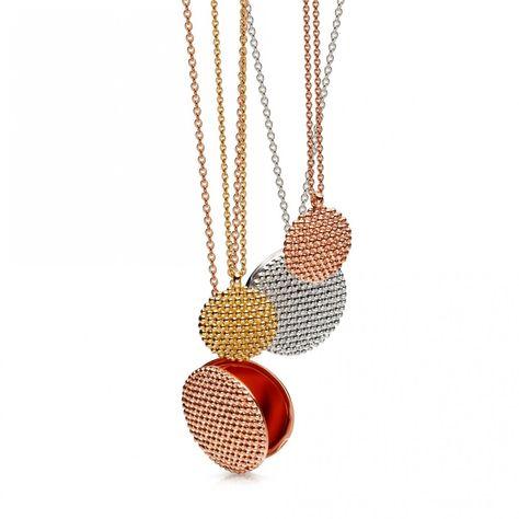 Astley Clarke   Rose Gold Vermeil Mille Locket