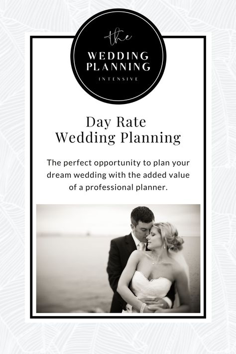 Whether you're planning an intimate micro-wedding, destination or elopement nuptials, or even pushing your date back for the full blown celebration (screw COVID), our day rate wedding planning packages are designed to be utilized as little or as much as you need. Without the obligation of committing to full-service planning, you can benefit from purposeful and guided planning tailored to your specific needs. #weddingplanner #weddingplanning #weddingbudget #diybride