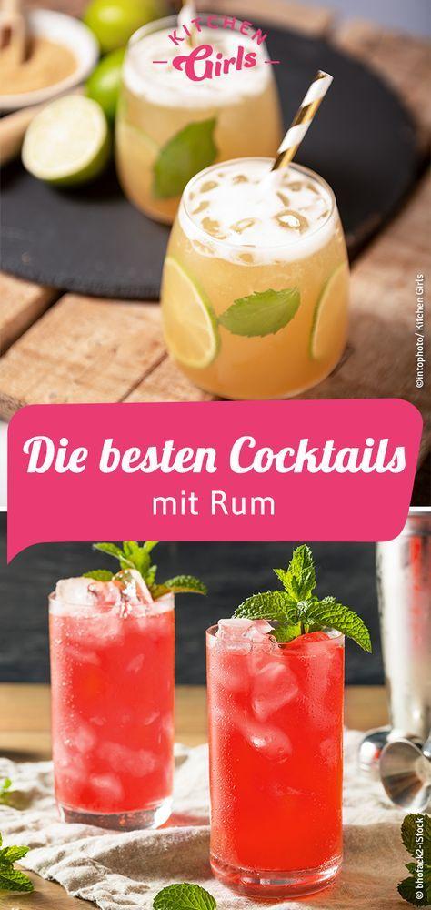 Die Besten Cocktails Mit Rum Rum Cocktails Rum Cocktail Rezepte Cocktails