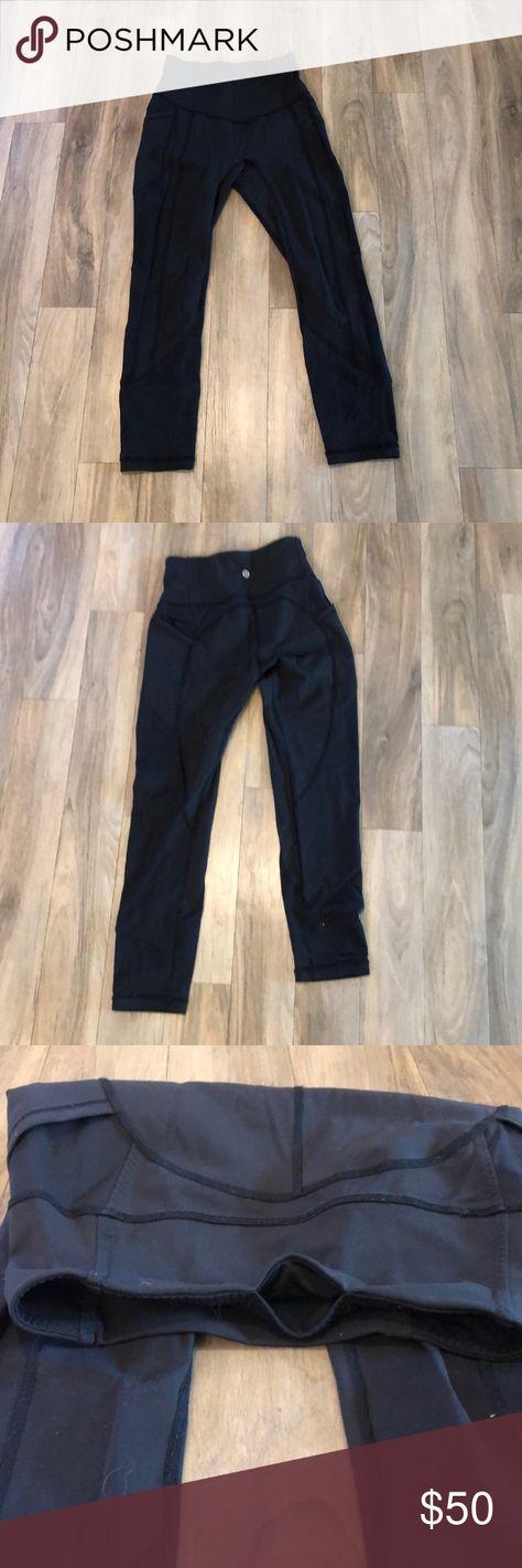 8cb71411eeff00 Lulu lemon pants Lots of pockets! Great pants! lululemon athletica Pants  Leggings