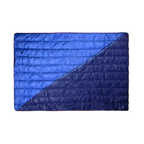Goose Down Outdoor Heated Blanket Blue Heated Blanket Battery Powered Heated Blanket Blue Blanket