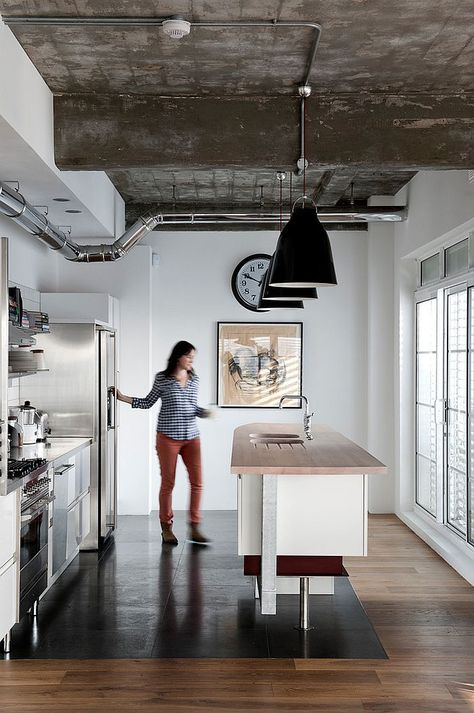 100 Awesome Industrial Kitchen Ideas