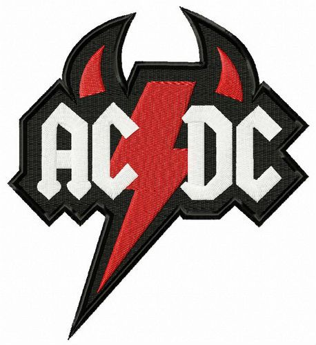 Logo Fly Stitch Beanie AC//DC