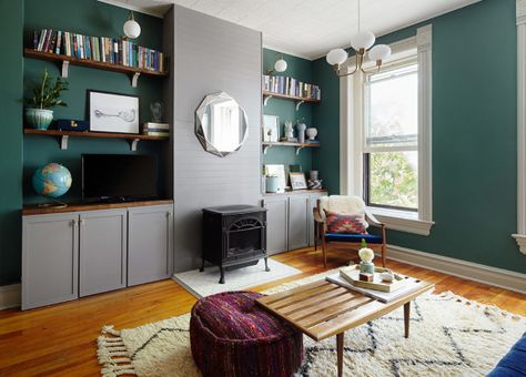 DIYs, Craigslist Finds and Jewel Tones in Chicago   Home ...