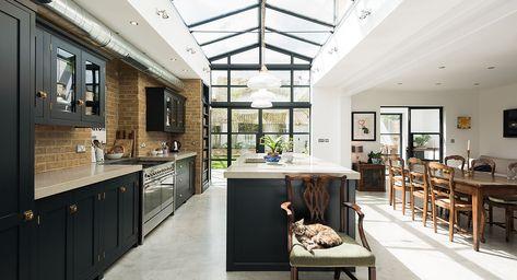 Balham Shaker Kitchen Victorian Terrace