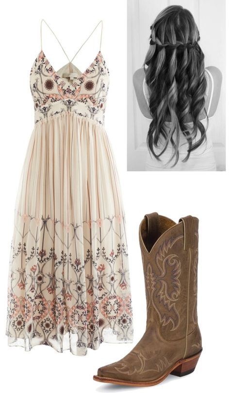 "Simple country style wedding dresses with boots trends - boots country D .Simple country style wedding dresses with boots trends - boots country Dresses simple Style Wedding dress ""BRIGITTE""All of our dresses are Country Girl Outfits, Country Style Wedding Dresses, Country Fashion, Country Girls, Country Style Clothes, Wedding Country, Country Girl Style, Country Chic Clothing, Country Attire"