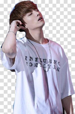 Jungkook Bts T Shirt K Pop T Shirt Transparent Background Png Clipart Bts Black And White Png Bts