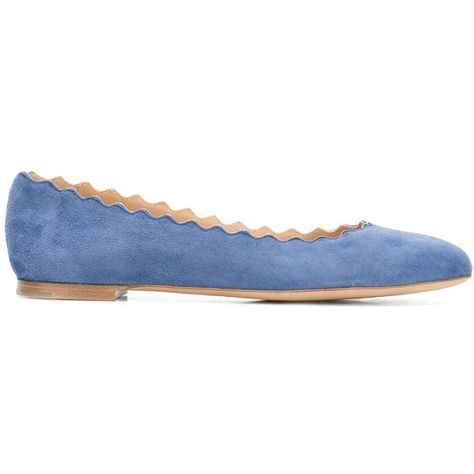 ebcf30395 Chloé Lauren ballerinas (30.570 RUB) ❤ liked on Polyvore featuring shoes,  flats,