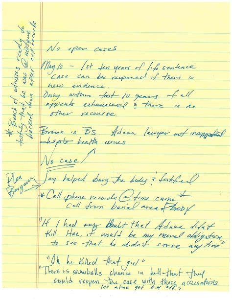 Serial Podcast Episode 1 The Alibi Itu0027s Baltimore, 1999 Hae Min - homicide report template