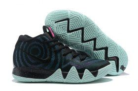 6fe487c24e599 Delicate Nike Kyrie 4 Black Laser Fuchsia 943806 007 Men's Basketball Shoes  Irving Sneakers