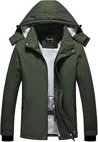Spmor Kids Rain Poncho Hooded Jacket Rain Coat