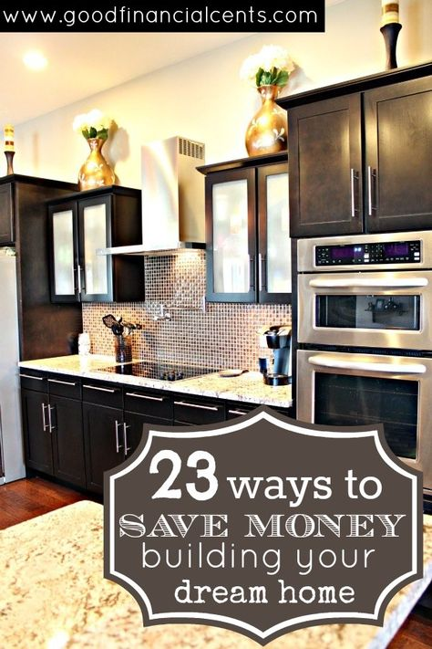 ways to save money building