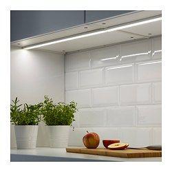 Omlopp Led Werkbladverlichting Wit 40 Cm Ikea Ikea Verlichting Keukenverlichting