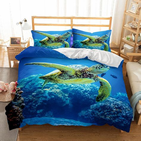 3D Jumping Dolphin 6 Bed Pillowcases Quilt Duvet Cover Set Single Queen King AU
