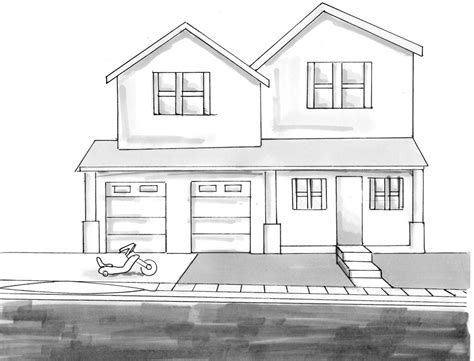 View Source Image Dream House Sketch House Drawing Dream House Drawing