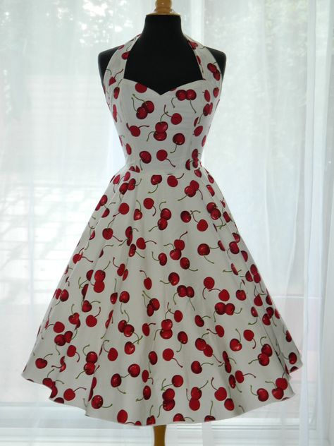 50s vintage clothing | ON SALE Vintage/50s/Rockabilly Halter Style by BadlyBehavedBetty