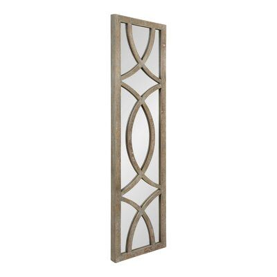 Ophelia Co Julien Panel Beveled Accent Mirror Framed Mirror Wall Mirror Wall Wall Paneling