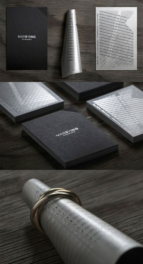 Clever Business Card Design For A Jeweller Doubles As A Ring Sizer