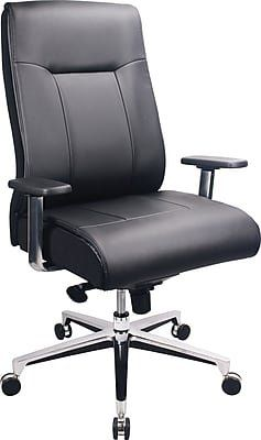 Magnificent Tempur Pedic Leather Computer And Desk Office Chair Fixed Alphanode Cool Chair Designs And Ideas Alphanodeonline