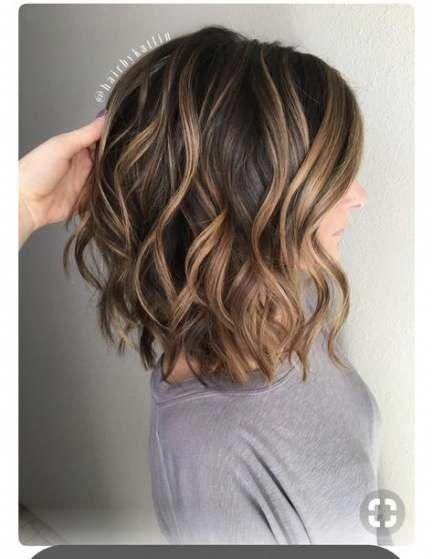 Hair Color Medium Length Highlights Dark Brown 47 Super Ideas Hair Darkbrownhair In 2020 Medium Hair Color Brunette Hair Color Hair Color Balayage