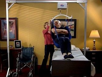 Traxx Titan 500 Patient Lift System In 2019 Home Health Care Home Health Caregiver