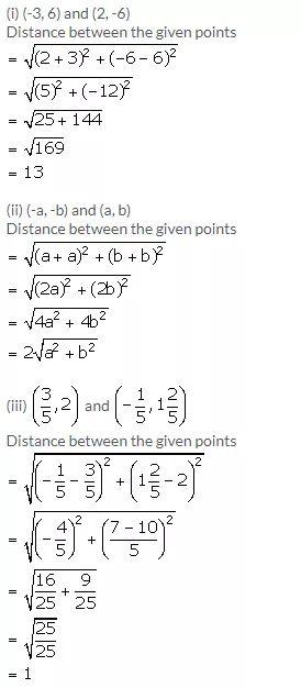 Selina Concise Mathematics Class 9 Icse Solutions Distance Formula A Plus Topper Distance Formula Student Problem Solving Math Lessons