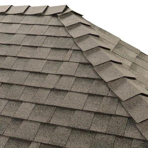 Gaf Ridglass 31 Lin Ft Birchwood Hip And Ridge Roof Shingles 0871097 In 2020 Ridge Roof Architectural Shingles Roof Architectural Shingles