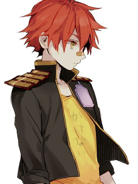 Trendy Hair Red Anime Boy 46 Ideas Anime Red Hair Anime Guy Blue Hair Touken Ranbu