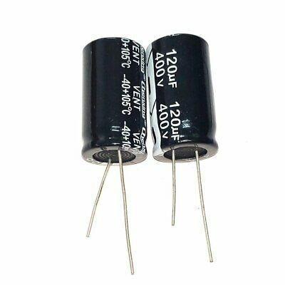 1uf 10uf 100uf 120uf 150uf 180uf 220uf 400v 105c Aluminum Electrolytic Capacitor Ebay My Ebay Electrolytic Capacitor Ebay