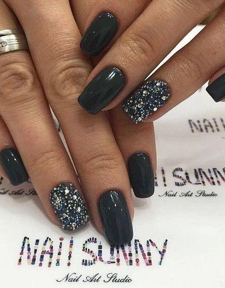 30 Inspiring Winter Nails Color Trend 2020 Winternail Nailart