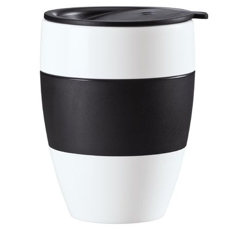 Aroma Travel Mug Koziol Insulated Cups To Go Coffee Cups Stoneware Cups